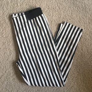 Pants - Black and White Striped Beetlejuice Pants
